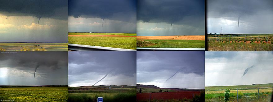 Imagen completa de la secuencia del tornado.
