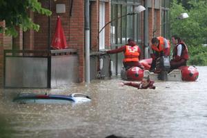 Las Inundaciones en Vizcaya 01/06/08