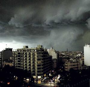 Tormenta Severa en Mallorca