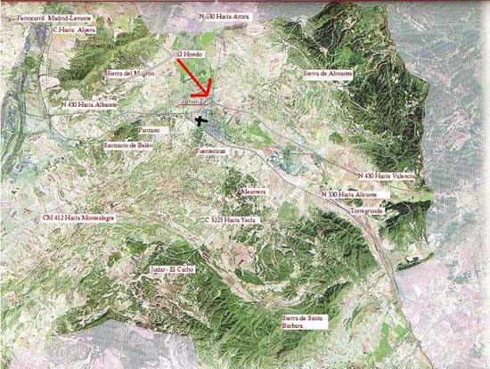 Linea de turbonada en almansa albacete 29 07 2004 - Plano de almansa ...
