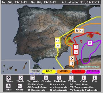 Alertas Tiempo Severo (www.tiemposevero.es)