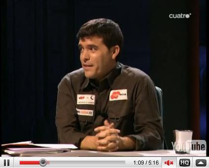 Emilio rey en el programa cuarto milenio for Colaboradores cuarto milenio